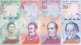 Bancnota Venezuela 2,5,10 si 20 Bolivares Soberano 2018 - PNew UNC ( set x4 )