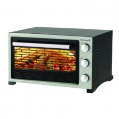 Cuptor electric Hausberg, 1420 W, 38 l, timer, termostat, 2 tavi