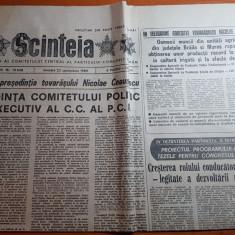 ziarul scanteia 23 septembrie 1989-foto cu arhitectura municipiului constanta