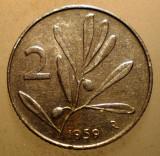 1.141 ITALIA 2 LIRE 1959 ALBINA, Europa, Aluminiu