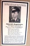 Document  religios   deces  militar  german  WW II