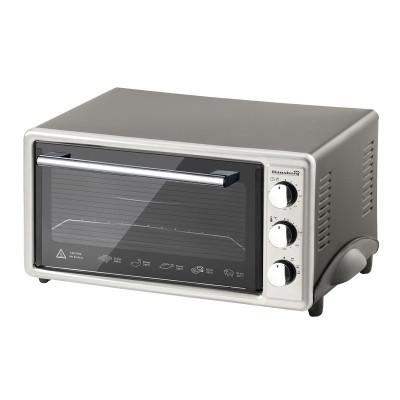 Cuptor electric Hausberg, 1800 W, capacitate 48 l, timer, alarma foto