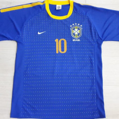TRICOU BARBATI FOTBAL BRAZILIA- KAKA, LIVRARE GRATUITA, XL, Maneca scurta, Din imagine
