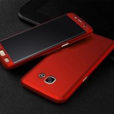 Husa FullBody Elegance Luxury Red pentru Samsung Galaxy A5 2016 acoperire 360...
