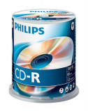Philips CR7D5NB00 CD-R, 700MB, 52x, 100 buc