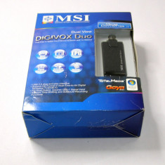 MSI DigiVOX Duo DVB-T USB TV tuner (1094)