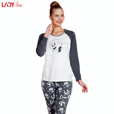 Pijama Dama Vienetta, Model Love Is Everywhere, Cod 2164, L, XL, Din imagine