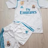 ECHIPAMENTE FOTBAL COPII REAL MADRID-SERGIO RAMOS, LIVRARE GRATUITA, Masura unica, Tricou + Pantalon
