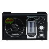 Radio de birou retro, 11 benzi, difuzor 80 mm, alimentare duala, Leotec