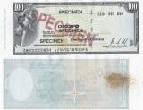 1996, CEC de călătorie de 100 dollars, SPECIMEN (Banca CITICORP)