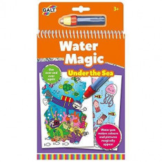 Water Magic: Carte de colorat Lumea acvatica