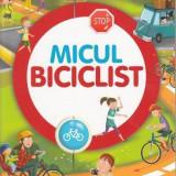Codul rutier pentru copii - Micul biciclist, girasol