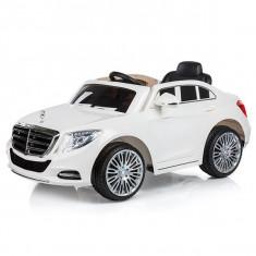 Masinuta electrica Chipolino Mercedes Benz S Class white, Alb