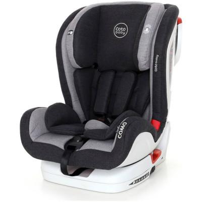 Scaun auto cu Isofix Como - Coto Baby - Melange Gri foto