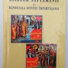 Carte rugaciuni crestin ortodoxa Acatiste Canon Paraclis Randuiala Impartasanie