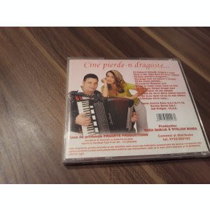 CD ZORICA SAVU-CINE PIERDE-N DRAGOSTE RARITATE!!!!! ORIGINAL