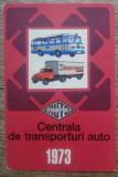 Calendar 1973// Reclama Centrala de Transporturi Auto