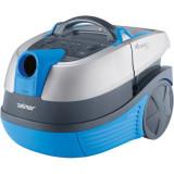 Aspirator cu spalare Aquawelt Plus ZVC762SP, 1700 W, functie spalare/filtrare, filtru HEPA, albastru, Zelmer