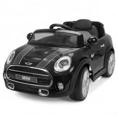 Masinuta electrica Chipolino Mini Cooper Hatch black, Negru