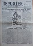 Ziarul Reporter , Dir.  Cocea , nr. 3 / 1938 , scriu Gherasim Luca , D. Trost