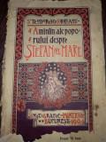 Amintiri ale poporului despre Stefan cel Mare- 1904