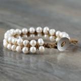 Bratara din perle naturale
