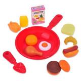 Set de joaca pentru copii , Tigaie cu accesorii pentru bucatarie