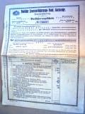 Polita de asigurare 1928