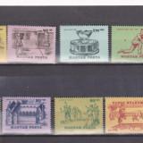 UNGARIA 1965 ,TENIS  SERIE MNH, SPORT, Nestampilat