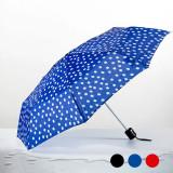 Umbrela Plianta cu Buline F1015198 Culoare Albastru