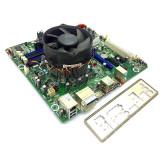 KIT Placa de baza Intel DQ57TM, Intel DualCore G6950 2.8GHz, Cooler inclus