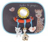 Set de 2 parasolare cu jucarii Girafa Sophie