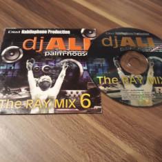 CD DJ ALI PALM HOUSE THE RAY MIX 6 ORIGINAL