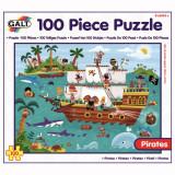 Puzzle - Calatoria piratilor (100 piese), Galt