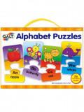 Set 26 de puzzle-uri Alphabet (2 piese), Galt