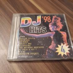 CD DJ HITS 98 VOL 4 FOARTE RAR!!!! ORIGINAL