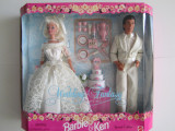 Barbie $ Ken Wedding Fantasy-Fantezie Nunta Gift-Cadou Set Special Edition-1996