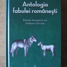 Antologia fabulei romanesti, Adrian Savoiu, Art, 2017