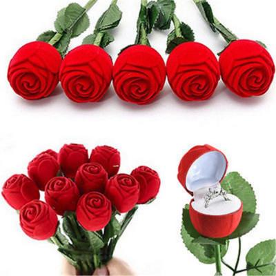 CUTIE cutiuta pentru INEL LOGODNA cercei in forma de TRANDAFIR trandafiri pret foto