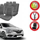 Huse Scaune Dedicate Renault Megane 2015-2017 Premium
