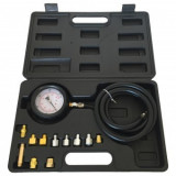 Set tester masurare presiune ulei Bass BS-3608, domeniu 0-35 Bar, 12 piese