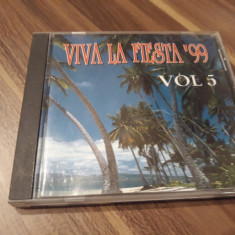 CD VIVA LA FIESTA 99 VOL 5 ORIGINAL