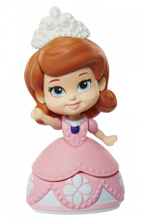 Păpuşă mini 3''- Sofia Întâi - Roz