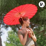 Umbrela din Bambus Flowers Fashinalizer V0201025