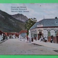 Zarnesti  Zernest  Brasov, Circulata, Printata