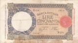ITALIA 50 lire 1939 VF!!!