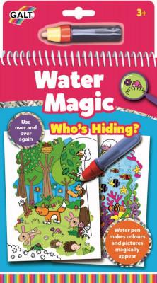 Water Magic: Carte de colorat Who's Hiding? foto