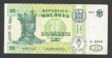 MOLDOVA  20  LEI  2006   [1]   P-13h  ,  XF