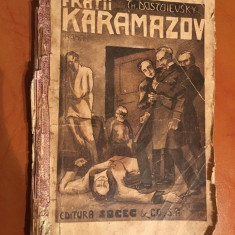 Fratii Karamazov, Volumul I, editie interbelica