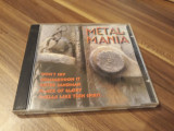 CD VARIOUS METAL MANIA RARITATE!!!!ORIGINAL BMS